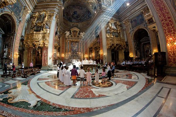Orario Messe E Celebrazioni Santa Maria In Vallicella Chiesa Nuova