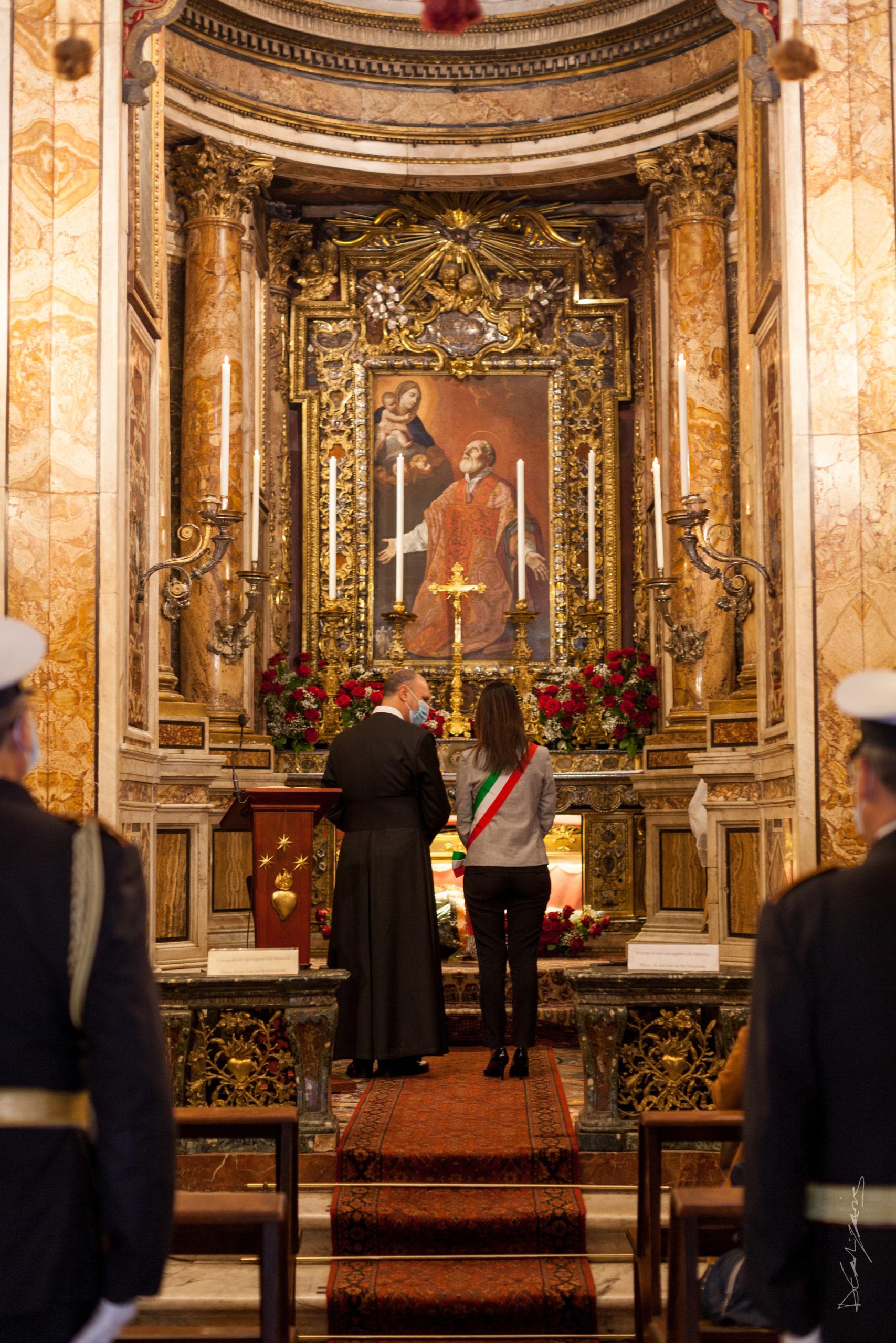Solennità di San Filippo Neri 2021 – Omaggio della Sindaca Virginia Raggi a San Filippo Neri, Compatrono di Roma